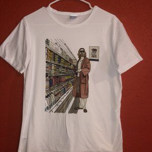 The Big Lebowski The Dude Shopping at Ralph's Tee
